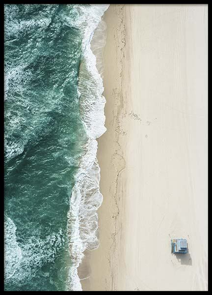 South Beach Aerial Poster in der Gruppe Poster / Naturmotive bei Desenio AB (10226)