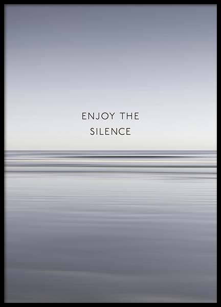 Enjoy The Silence Poster in der Gruppe Poster / Naturmotive bei Desenio AB (10300)