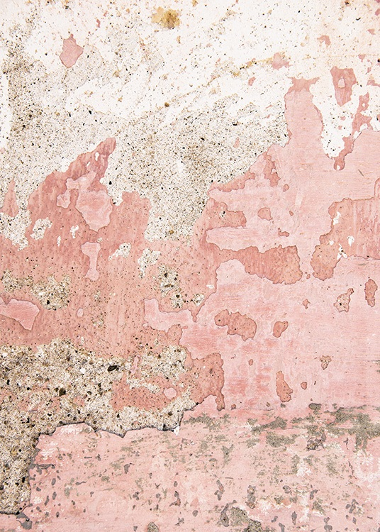 Old Pink Wall Poster / Fotografien bei Desenio AB (11243)